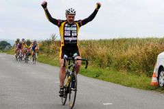 Jean Luc Richard remporte le Prix de Bregny en Pass Cyclisme (Photo : JLR)
