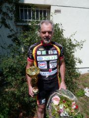 Jean-Luc Richard remporte  la course de Nanteuil les Meaux (77)