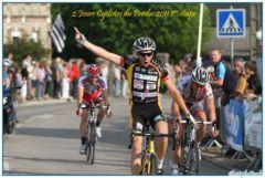 Camille Thominet l'emporte sur la première étape des 2 jours cycliste du Perche 2011 (Photo :  christophe Baudu)