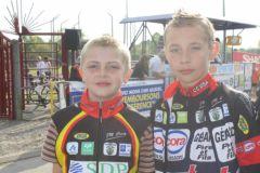 EDV : Julien Bachery et Antoine Heymans à Eppeville (Photo : Isa)