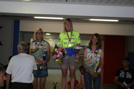 Ophélie Fénart championne de Picardie