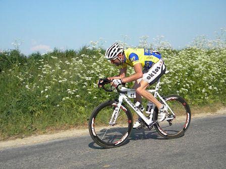 Nicolas Flere du Team Flixecourt remporte la première étape (Photo : Antoine Maréchal)